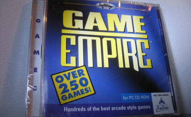 New Shareware Game Empire Softkey Vintage Software Cd Rom