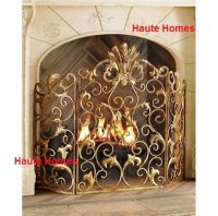 NEW Horchow French Acanthus Antique ORNATE Old World GOLD ...