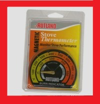 New! 701 RUTLAND Magnetic Stove Pipe Chimney Thermometer ...