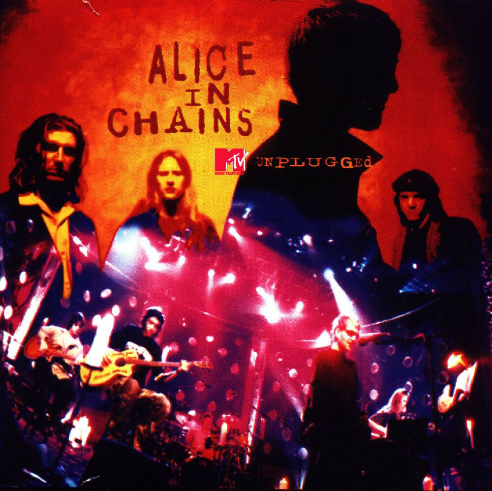 Alice In Chains Mtv Unplugged 180g Audiophile New Sealed