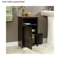 Bathroom Storage Cabinet Bath Floor Cupboard Shelves Towel ...