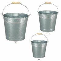 9L /18L Galvanised Bucket Heavy Duty Strong Metal Bucket ...