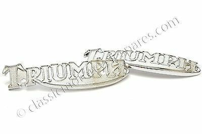 Tank Badges, Triumph T140, T160, 1978 on, 83-5361, 60-7210