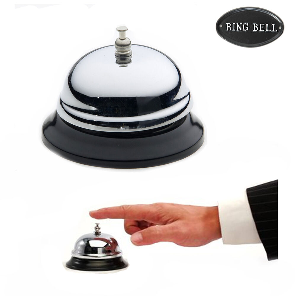 Desk Bell Call Calling Service Reception Vintage Ring