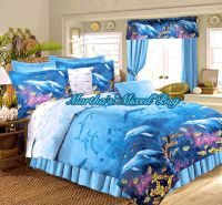 DOLPHIN Bedding Tropical Ocean Beach All Sizes Nautical ...