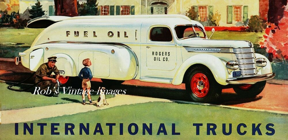 1957 Cars Restored Or Wallpapers Vintage International Truck Gasoline Hauler 1940 Photo