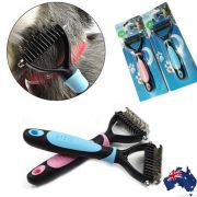 pet dog cat hair cut comb grooming