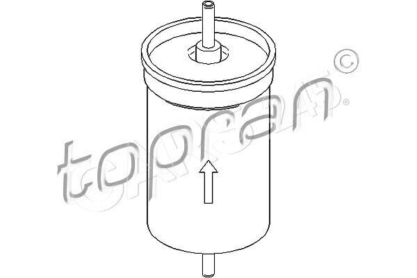 Inline Fuel Filter Fits FORD Escort V Orion Transit Verona