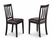 Set of 2 Antique dinette kitchen dining chairs with ...
