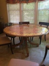 Round Kitchen Table 60 Inches