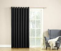 Barrow Extra Wide Room Darkening Patio Curtain Panel 100 ...