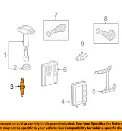 details about acura honda oem ignition system spark plug 12290r40a01 [ 1000 x 798 Pixel ]