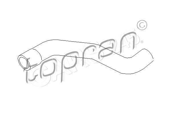 Radiator Coolant Hose Lower Fits OPEL Astra Hatchback