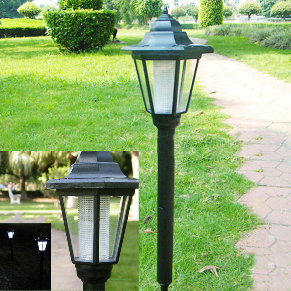 Outdoor Garden LED Solar Powered Light Path Yard Landscape