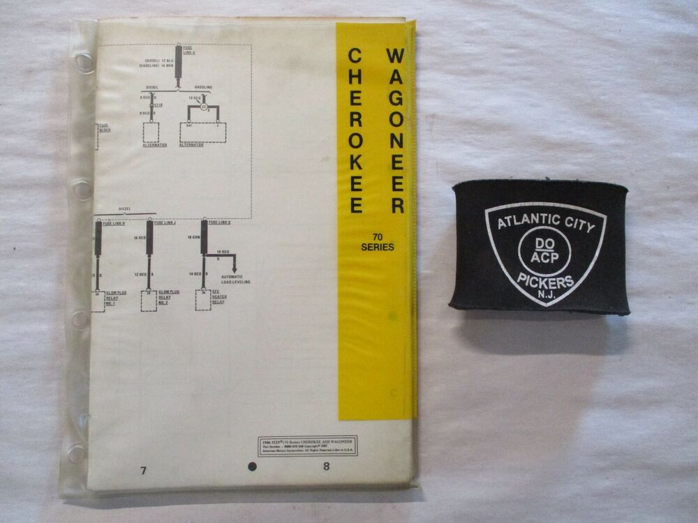 1988 Jeep Cherokee Electrical Wiring Diagram