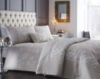 WARWICK DUVET QUILT COVER EMBROIDERED WOVEN JACQUARD ...