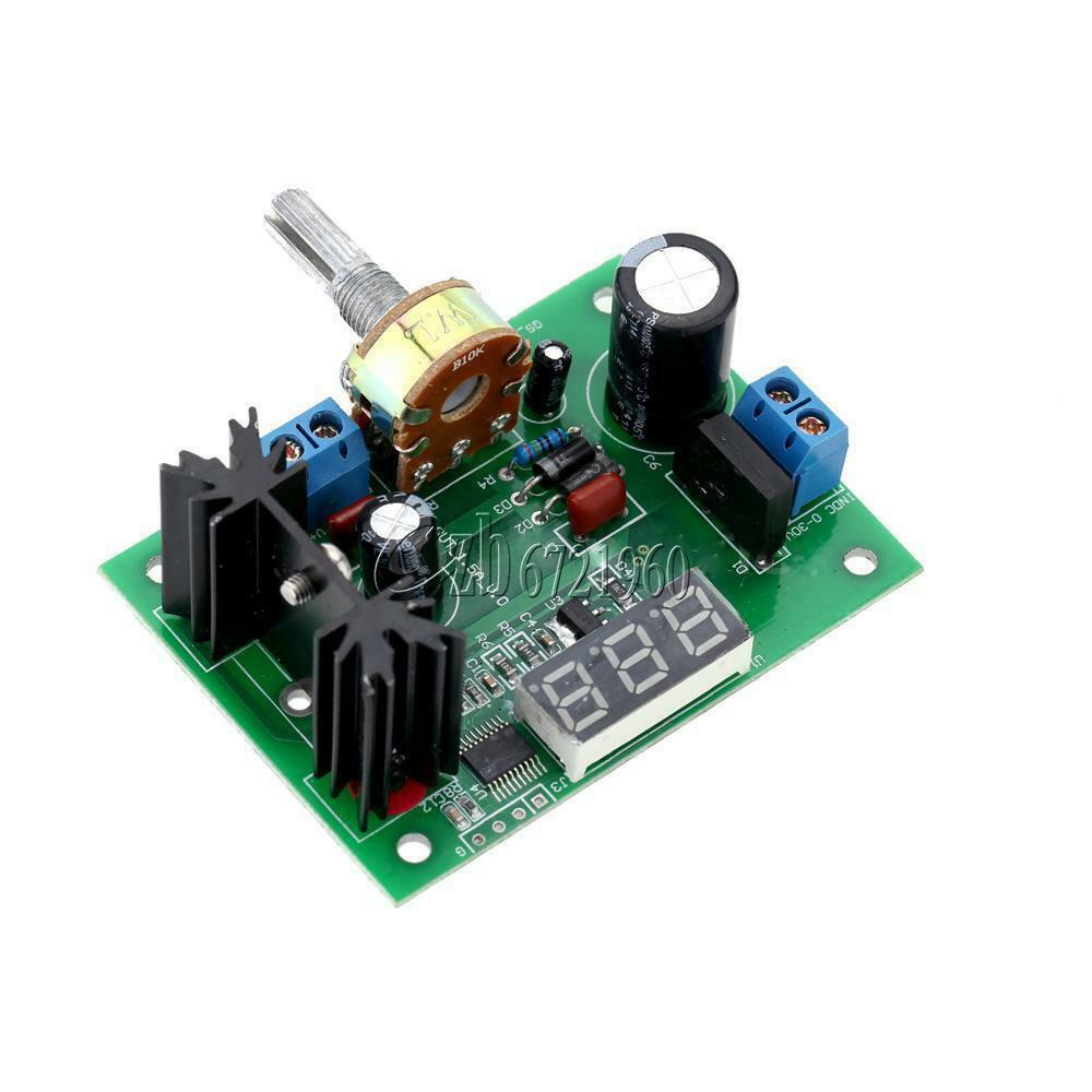 Variable Voltage Power Supply From Fixed Voltage Regulator