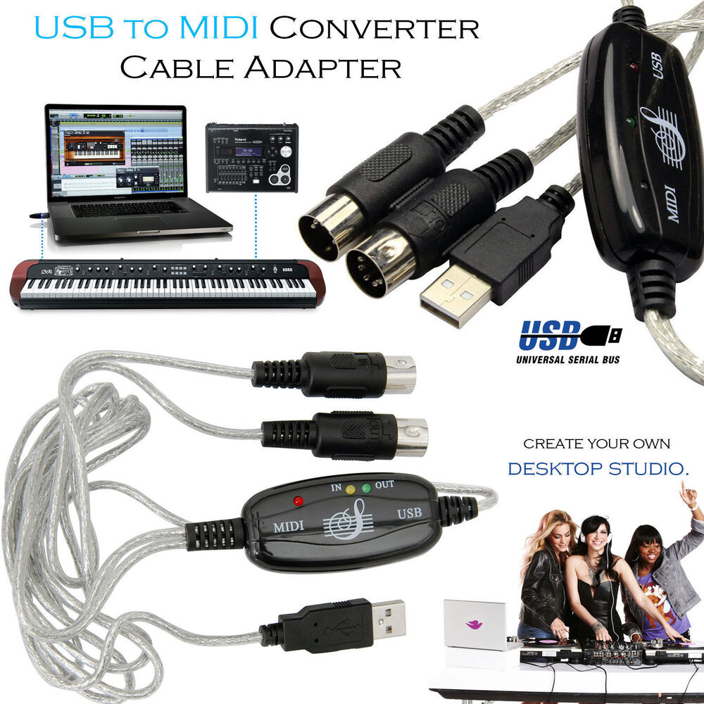 medium resolution of  midi to usb wiring diagram usb to midi cable keyboard adapter for piano interface pc
