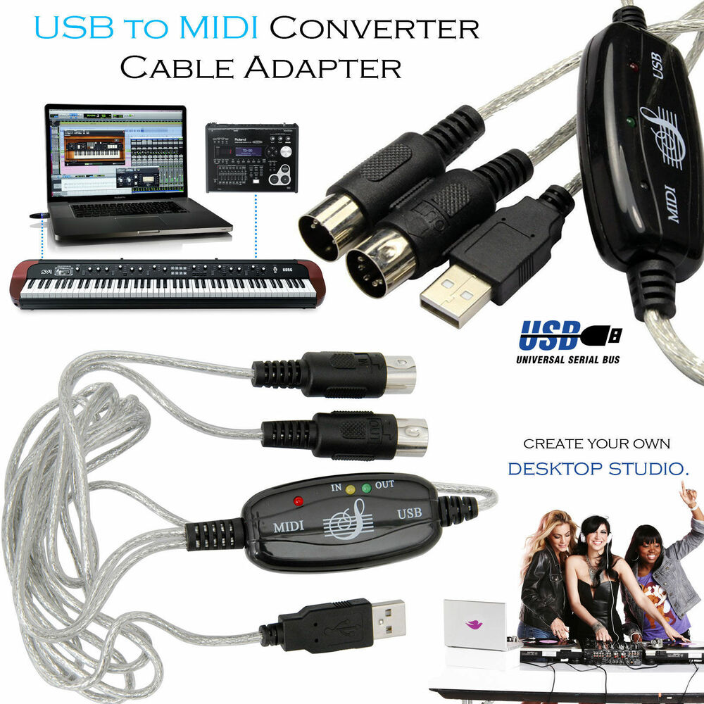 hight resolution of  midi to usb wiring diagram usb to midi cable keyboard adapter for piano interface pc