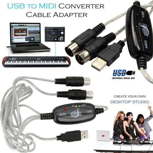 small resolution of  midi to usb wiring diagram usb to midi cable keyboard adapter for piano interface pc