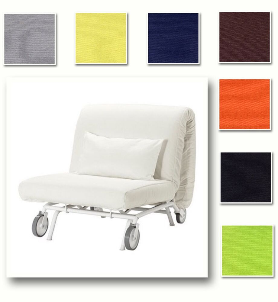 chair covers for purchase metal dining custom made cover fits ikea ps lovas bed, replace sleeper cover, 39 fabric | ebay