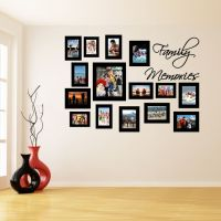 Vinyl Wall Decal Picture Frames, Family Memories Photo ...