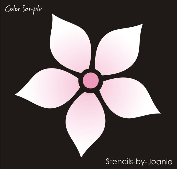 Plumeria Stencil Aloha Hawaii Tropical Beach Lei Flower