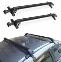 UNIVERSAL ANTI THEFT CAR ROOF BARS CARS WITHOUT RAILS ...