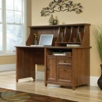 Computer Desk Home Office Workstation Table with Hutch in ...