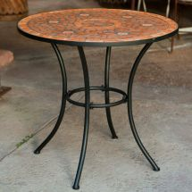 Mosaic Bistro Table Indoor Outdoor Home Kitchen Dining