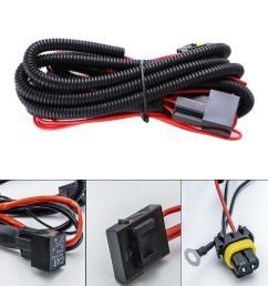 details about 9005 9006 relay wiring harness for hid conversion kit add on fog light led drl [ 1000 x 1000 Pixel ]