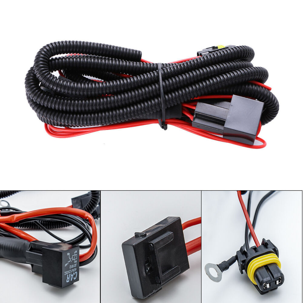 medium resolution of details about 9005 9006 relay wiring harness for hid conversion kit add on fog light led drl