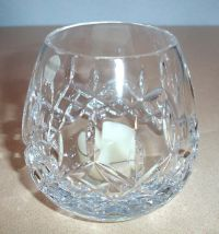 Waterford LISMORE Clear Crystal Votive Candle Holder ...