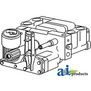 A-184473M93 Massey Ferguson Parts HYDRAULIC PUMP 202, 202