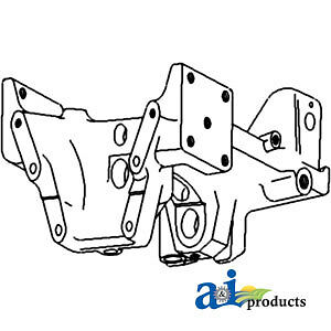A-2521680K94 Massey Ferguson Parts FRONT AXLE SUPPORT 265S