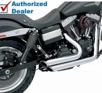 Vance & Hines Shortshots Staggered Chrome Exhaust Pipes ...
