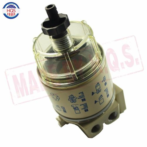 small resolution of details about for r12t marine spin on housing fuel filter water separator 120at new