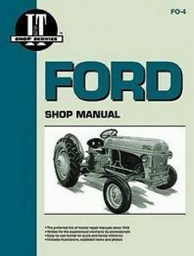 Ford 1000 Tractor Wiring Diagram Ford I Amp T Shop Service Manual For 8n 9n 2n Tractors