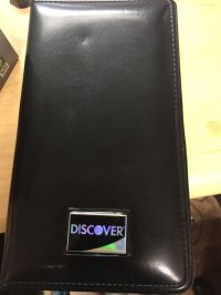 NEW DISCOVER Waitress Pad Waiter Order Pad Ticket Holder ...
