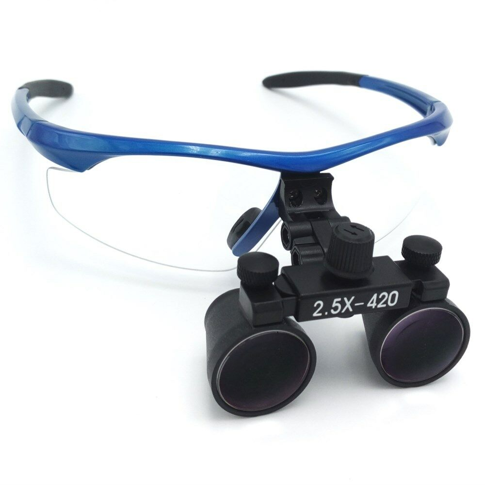 25x420mm Dental Loupes Surgical Binocular Loupe Dental