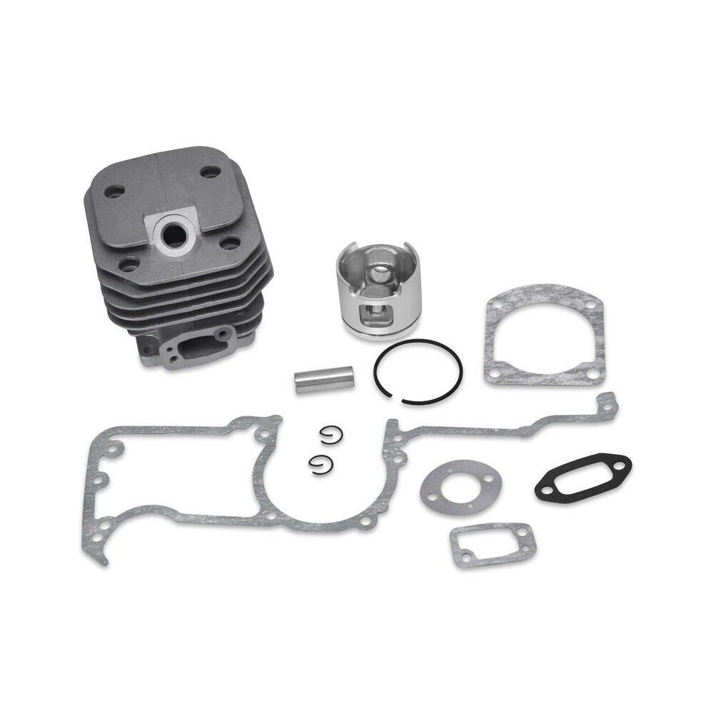 Engine Kit W/ Cylinder Piston Rings Gaskets Seals Fits