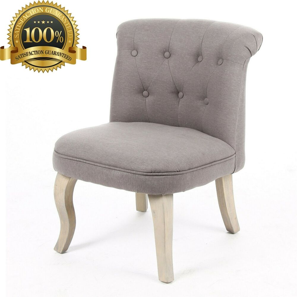 Traditional Vanity Chair Squat Decor Stool Makeup Seat