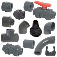 """PVC Imperial Solvent Weld Pressure Pipe Fittings 3/4"""" To 4 ..."""