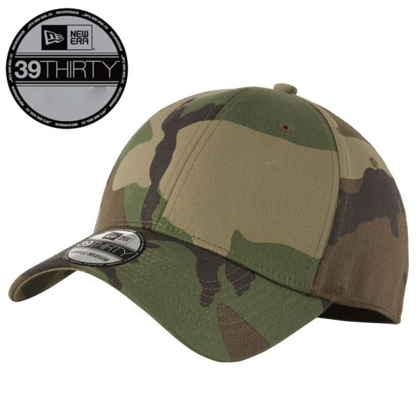 Era 39thirty Blank Stretch Cotton Fitted Camo Hat Cap