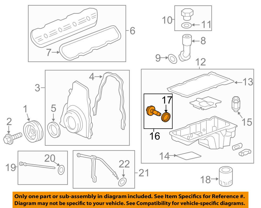 hight resolution of details about gm oem engine oil drain plug 11562588