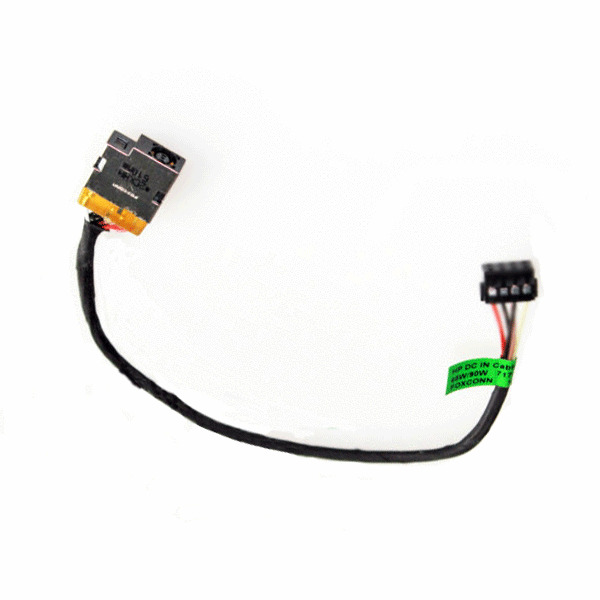 AC DC Power Jack harness socket with cable for HP 15