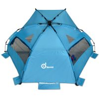 3-4 Person pop up beach tent sun shelter Steel Stake ...