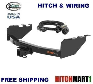 6K CURT TRAILER HITCH & WIRING FOR 20082017 CHEVY
