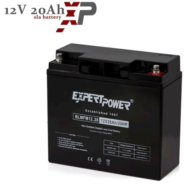 Expertpower 12 Volt 12v 20 Amp Deep Cycle Agm Battery With Threaded Terminals