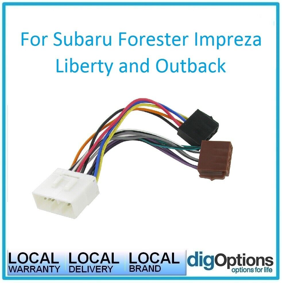 medium resolution of details about iso wiring harness plug loom connector for subaru wrx forester impreza liberty